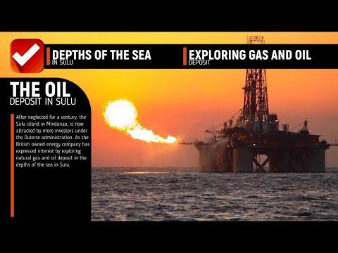 PHILIPPINE OIL RESERVE IN SULU STAGGERING $2.3 BILLION