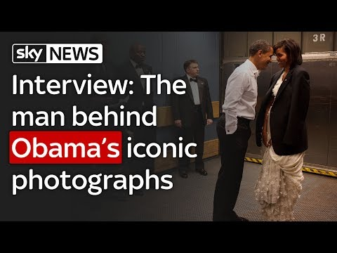 Interview: The man behind Obama's iconic photographs