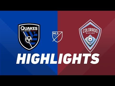 Video: San Jose Earthquakes vs. Colorado Rapids | HIGHLIGHTS - July 27, 2019