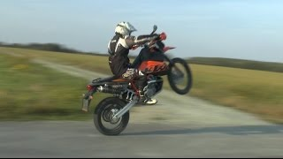 4. The powerful sound of KTM 950 Super Enduro R