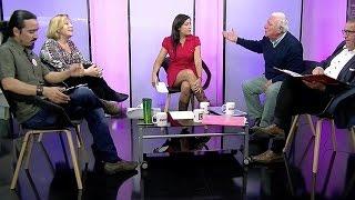 Los candidatos Helia Molina, Andrés Zarhi, Alejandro Zacur y Cristián Villarroel, confrontaron sus opiniones y expusieron sus ideas en torno al futuro de la ...