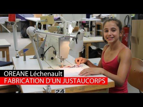 Avec Oréane, découvrez la fabrication d'un justaucorps