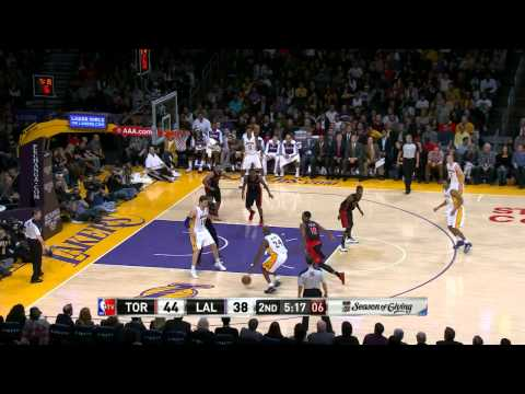 Return - Kobe Bryant shows his return to form with the nice left-handed bank shot in the lane. Visit nba.com/video for more highlights. About the NBA: The NBA is the ...