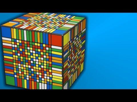 VIDEO: Vyřešit největší Rubikovu kostku na světě trvalo 7 a půl hodiny
