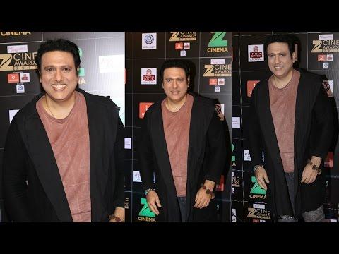 Govinda At The Zee Cine Awards 2017