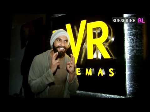 Ranveer Singh meet fans at cinemaghar for Befikre