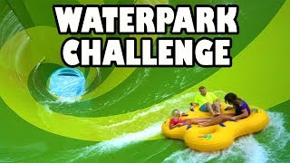 Video Water Park Challenge at Aquatica with Giant Water Slides. Totally TV MP3, 3GP, MP4, WEBM, AVI, FLV Desember 2018