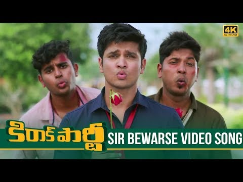 Video Kirrak Party Video Songs | Sir Bewarse Full Video Song 4K | Nikhil Siddharth | Simran, Samyuktha download in MP3, 3GP, MP4, WEBM, AVI, FLV January 2017