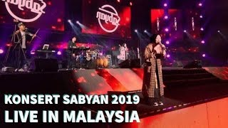 Video KONSERT SABYAN 2019 LIVE IN MALAYSIA !!! MP3, 3GP, MP4, WEBM, AVI, FLV Maret 2019