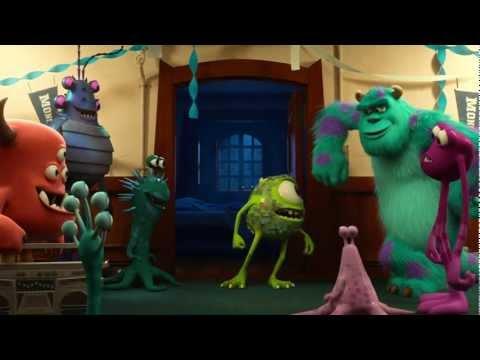 Monstruos University Trailer Español