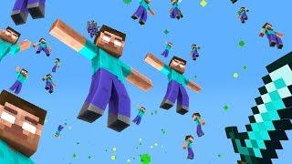 MINECRAFT MA OGNI 5 SECONDI PIOVONO HEROBRINE - Minecraft ITA