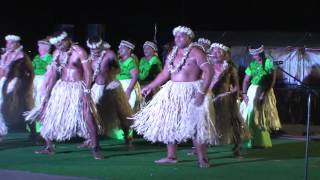 The Nukunonu Island (Tokelau Is.) Contingent at the 12th Festival of Pacific Arts, Guam, 2016.