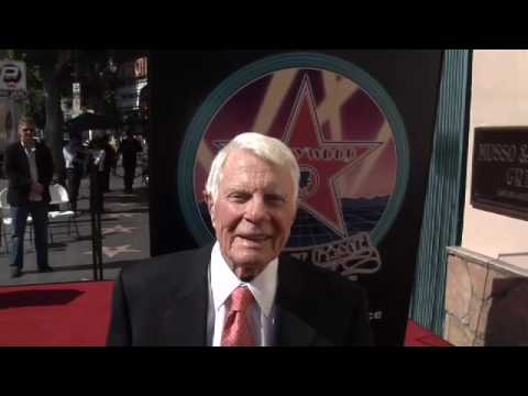 Peter Graves Walk of Fame Ceremony