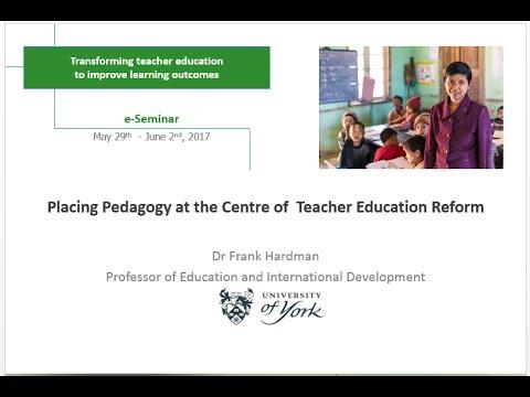 Frank Hardman - IIEP e-Seminar presentation