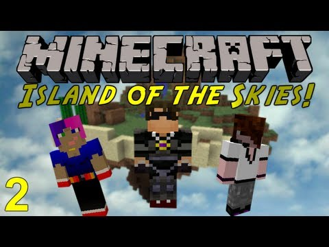 Minecraft: Island of the Skies 2 : Surviving The Night