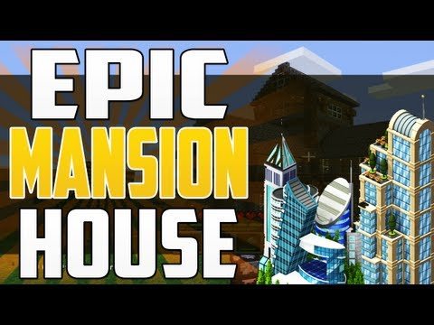 Epic Minecraft Mansion House! – World Tour 2.0 (XBOX 360)