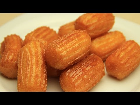 Turkish Tulumba Recipe – Fried Sweet Dough with Sugar Syrup