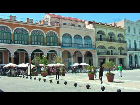 Plaza Vieja in Havana is fully restored by UNESCO