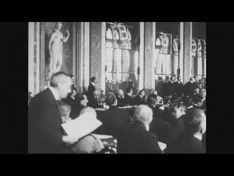 Versailler Vertrag: 100 Jahre - bis heute umstritten