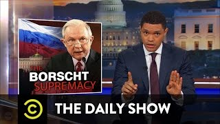 Jeff Sessions Recuses Himself from Russian Investigations: The Daily Show