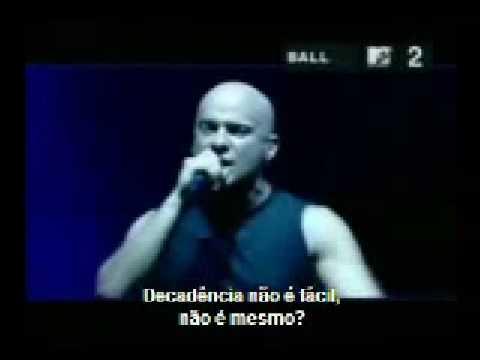 Disturbed - Decadence (Pt - Br) Traduzido (видео)