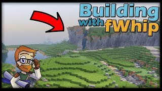 Building with fWhip :: CUSTOM MOUNTAIN BIOME #99 MINECRAFT Let's Play 1.12 Single Player Survival