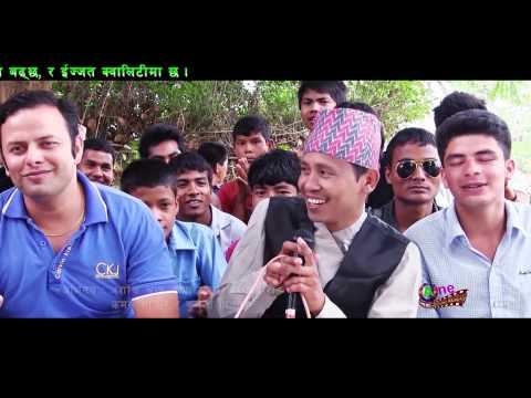 New Nepali Lokdohari Song Pan Supari by Prakash Priya Kusummya & Samjhana Siwakoti