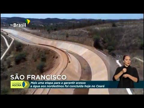 Mais uma etapa da obra no Rio São Francisco é concluída