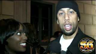 Affion Crockett the parody king of Tiger Woods, Drake & Jay-Z on Grammy Night in LA