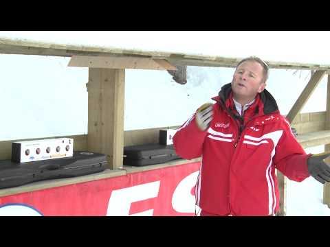 Initiation au Biathlon avec l'ESF des Rousses