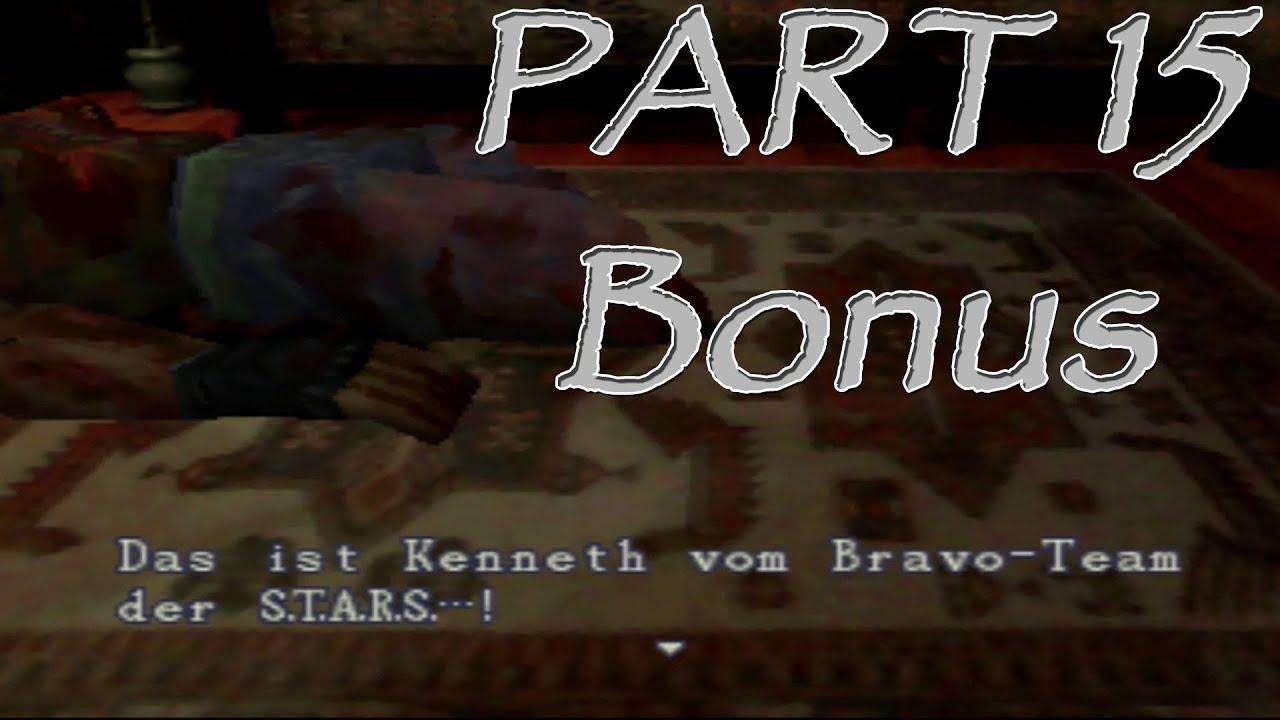 [Let's Play] Resident Evil Remake (2002) – 15 – Bonus