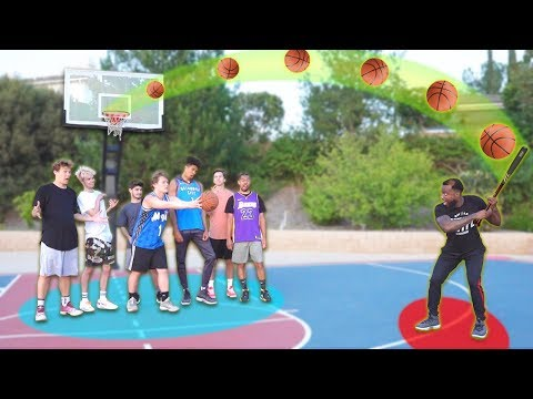 2HYPE BASKETBALL-BASEBALL SHOOTING CHALLENGE!
