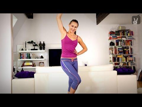 Современные танцы для девушек. Урок  обучения онлайн.