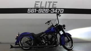 9. 2008 Harley Davidson Softail Deluxe Custom * For Sale * SOUTHFLORIDAHARLEYS