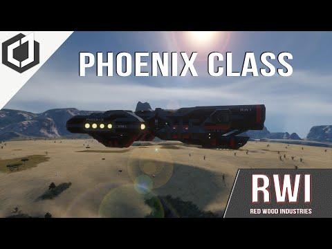 Space Engineers | THE RWI PHOENIX ASSAULT FRIGATE!