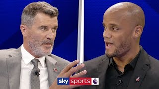 Roy Keane & Vincent Kompany disagree on whether the Premier League title race is over | Super Sunday