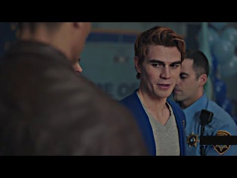 Riverdale 2×22 Bughead scene| Archie gets arrested