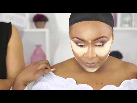 CLIENT MAKEUP AND GELE TRANSFORMATION  VLOG WOC