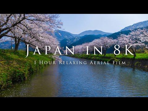 Japan in 8K- 1 Hour Relaxing Aerial Film