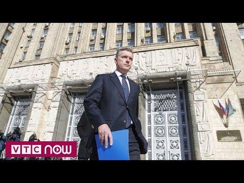 Nga tố tình báo Mỹ tìm cách tuyển mộ nhà ngoại giao bị trục xuất | VTC1 - Thời lượng: 41 giây.
