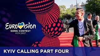 'This is real Hollywood stuff!'. Omar Naber was visually impressed by the atmosphere surrounding this years red carpet and opening ceremony event. We talked to as many of the participants as we could and asked them all about their costumes, dresses and of course their party mood!If you want to know more about the Eurovision Song Contest, visit https://eurovision.tv