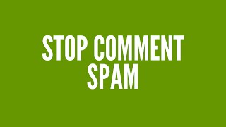 Prevent Comment Spam With Akismet