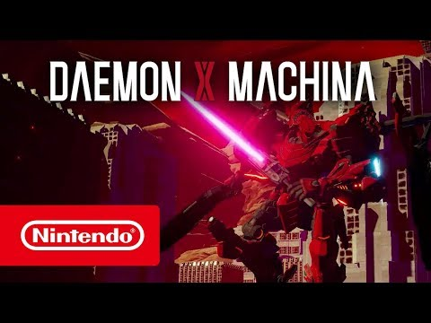 Daemon X Machina - E3 2018 (Nintendo Switch)