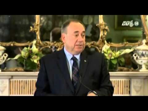 Thất vọng vì người dân nói 'không', thủ hiến Scotland từ chức