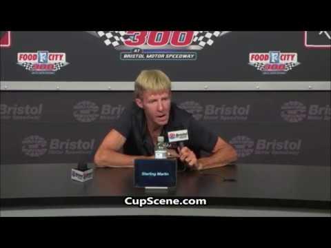 NASCAR at Bristol Motor Speedway, August 2018: Sterling Marlin