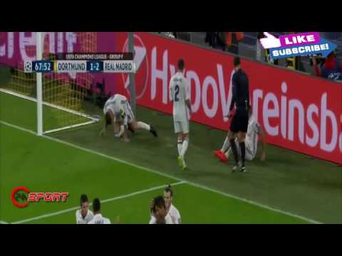 HL Extended  Dortmund vs Real Madrid 2 - 2  2016~Full Goals & Highlights  UCL  27 09 2016