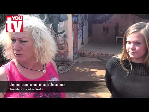 Jeanne & Jenni-Lee's Freedom Walls (видео)
