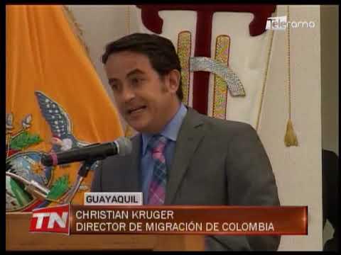 Analizaron problemas en frontera Colombo - Ecuatoriana