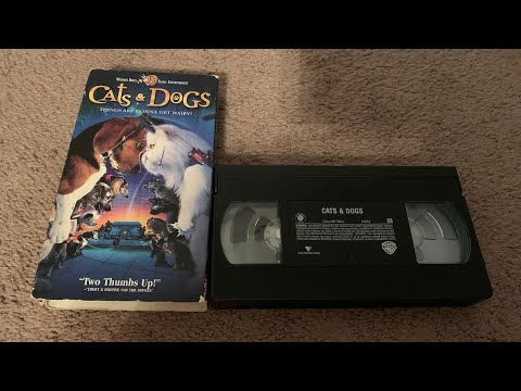 Opening to Cats & Dogs 2001 VHS (Canadian Copy)