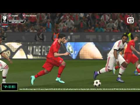 [PES League Asia 2016] TL_Tanukki vs TL_Arm Akanichi - Semi Final - 17/4/2016